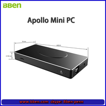 BBEN powerful Intel Apollo Lake N3450 Quad Core Windows 10 MINI PC