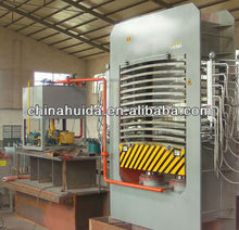 plywood hot press machine/ curved plywood machine/bed slats hot press