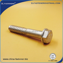 High strength track bolt for fastening railway bolt