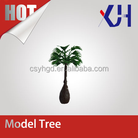 miniature architectural plastic scale finished model tree for model making