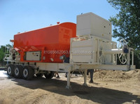 C2002 cellular lightweight concrete mixer for Screeds and Insulation