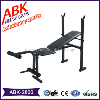 Commercial Used Portable Multi Function Weight Bench For