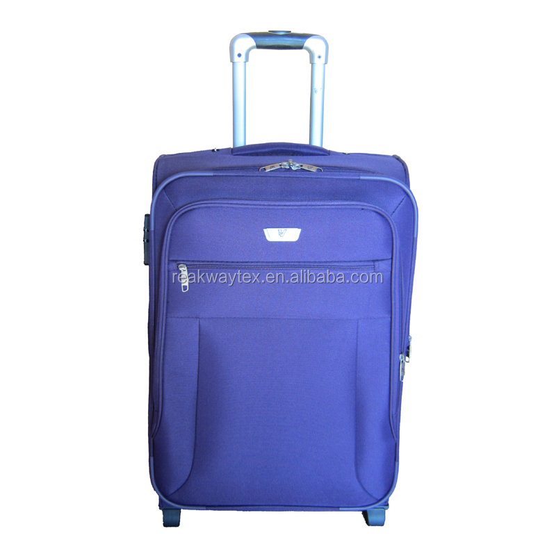 China Luggage Factory Supply Medium Level 3pcs Eva Expandable Travel Trolley Case Luggage Set