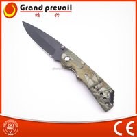 Stainless Steel best hunting knives with camo handle
