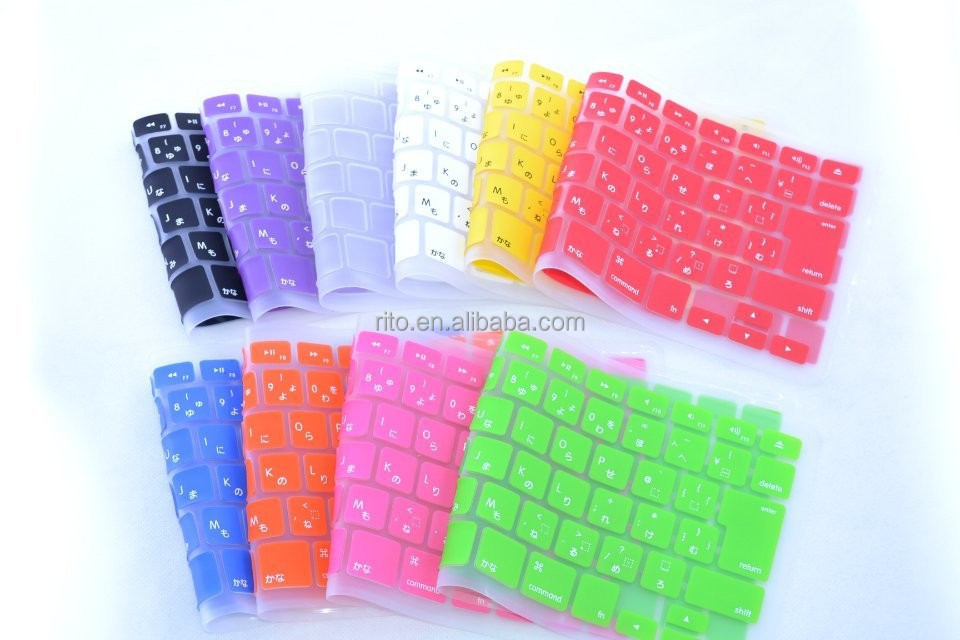 New Japanese Version Silicone Keyboard Skin Cover for Apple iMac wireless keyboard