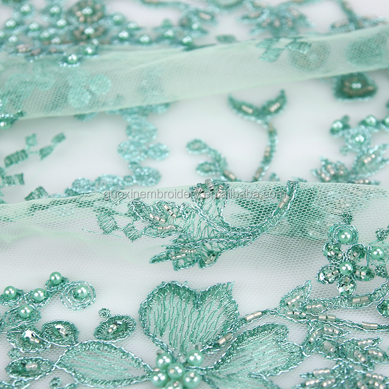 Fabric for wedding dress lace,heavy beaded lace fabric and embroidery fabric,wedding dresses for lace