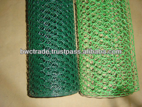 HOT SALE!!! PVC Coated Hexagonal Wire Netting (MANUFACTURER&FACTORY )