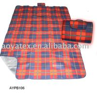 2013 Polar fleece Picnic Blanket