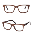 2017 New Unisex Stylish Wood Frame Optical Glasses