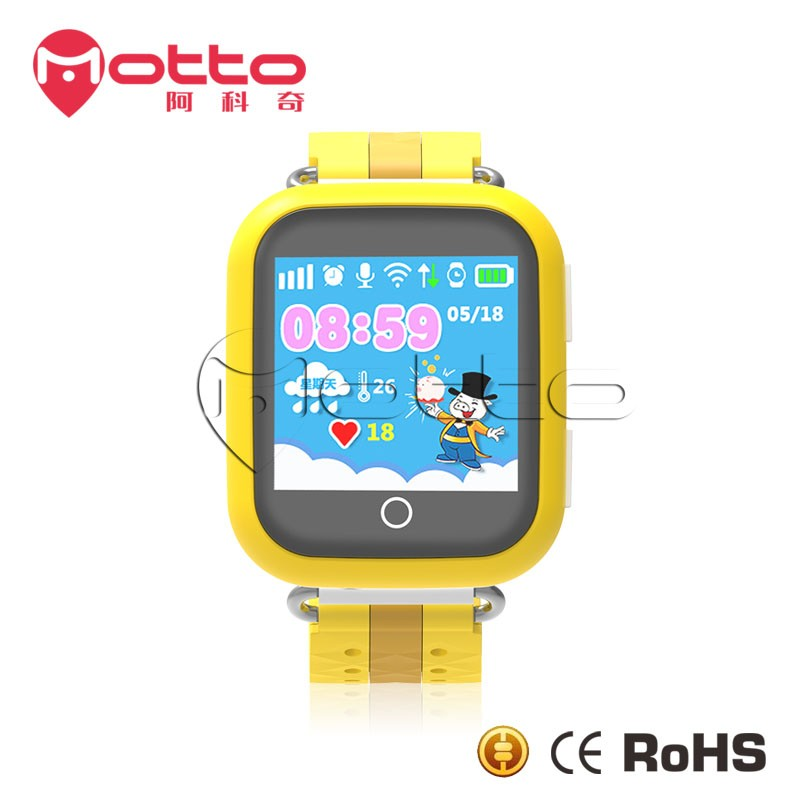 Android and IOS GPS smart watch ,elderly sos GPS watch,Kid watch q100