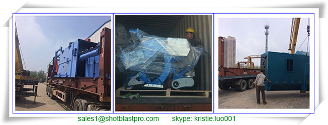 Continuous Hanger Type Shot Blasting Machine for Gear Housing