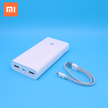 High-energy Mobile Phone Power Supply 20000mAh Xiaomi Mi Power Bank 2C Quick Charge