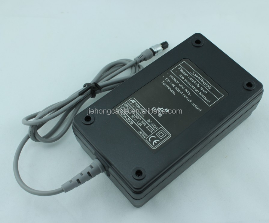 BC-27CR 110v DC battery charger for Topcon GTS-220,330series,GTS-600 series