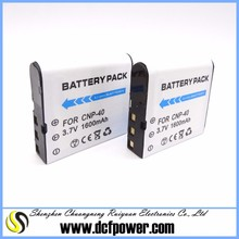 OEM CNP-40 NP-40 camera battery pack for Casi Exilim Pro EX-Z700, Exilim Pro EX-Z700GY NP 40