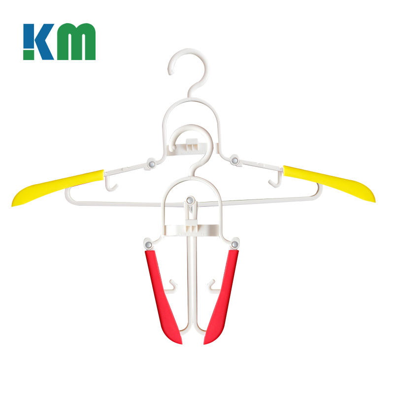 New Designed Adjustable Non Slip Portable Clothes Hanger