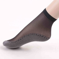 anti slip short stockings thin silk ankle socks