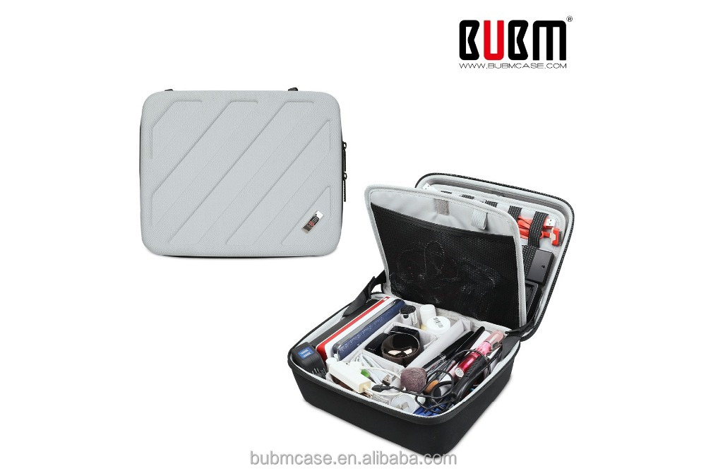 BUBM EVA Universal Waterproof Portable Travel Electronics and Accessories Carrying Organizer Case Bag