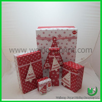 dongguan factory luxury custom made nested gift boxes wholesale