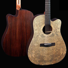 41'' new tech carving top hand craft wholesale guitar