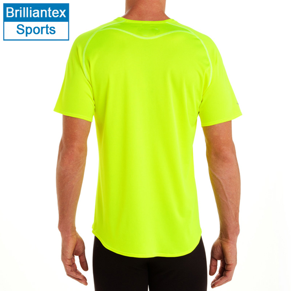 Neon Color Design Quick Dry T Shirt With O Neck Wholesale