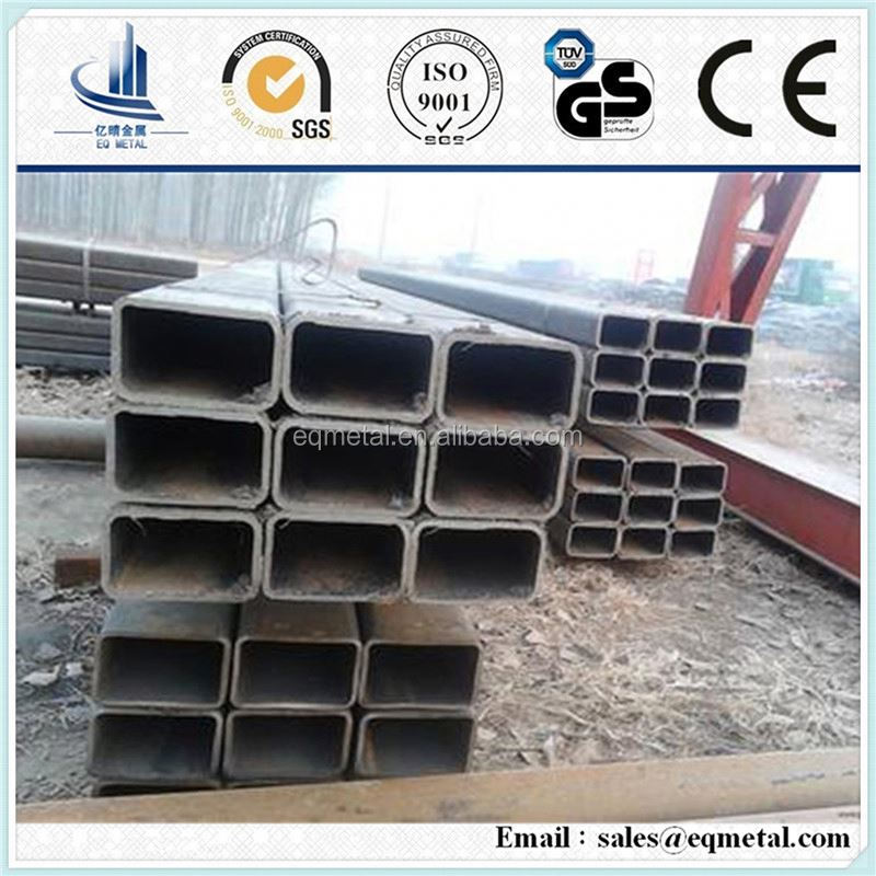 SHS Square Hollow Section iron rectangular profile tube