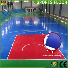 Reasonable price multi-use low cost indoor basketball court flooring