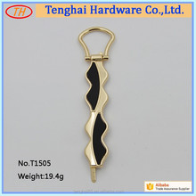 custom fashion metal hardware handles bag accessory