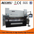 Competitive price we67k series plate bending machine with CE