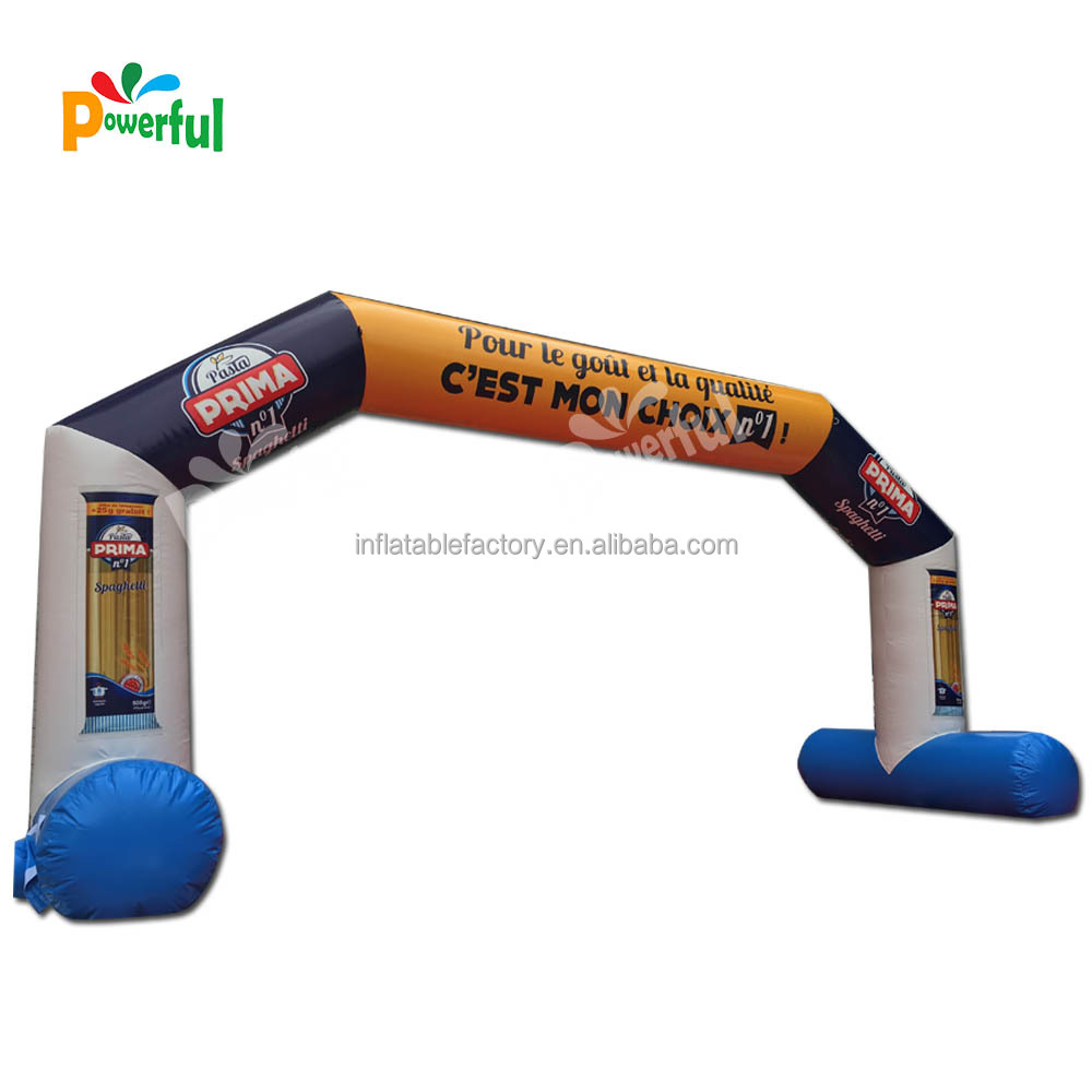 OEM ODM Factory cheap racing run finish line inflatable arch for sale