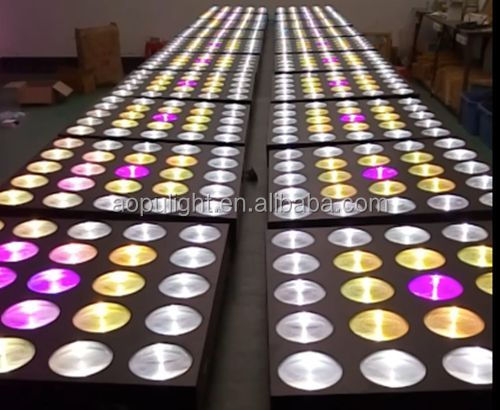 LED Flashing Disco Light led pixel matrix 5x5 blinder cob led 10w