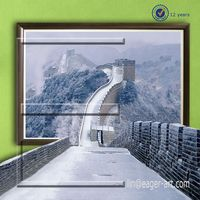 Wholesale Price 3D Modern Canvas Contemporary Wall Art Decrative Oil Painting For Painting GreatWall