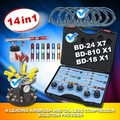 Double Action Airbrush Kit
