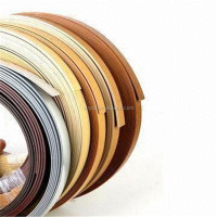 wood working plastic edge trim,mdf edge banding pvc,glossy clear plastic edge banding