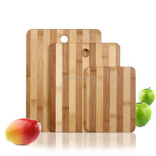 New 3-piece envirronmental safe zebra bamboo cutting board with high quality