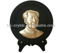 Chinese carving charcoal Chairman Mao/hardwood charcoal/ carvings for sale