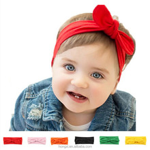Newborn Baby Girl <strong>Headbands</strong> 2017 Rabbit Bow Satin Ribbon Photography Props Infant Flower <strong>Headband</strong> Hair