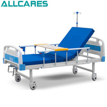 High quality home care cheap 2 cranks manual hospital bed for sale