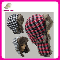 Lei feng cap thicken earflap hat warm russian hat winter beanie hat
