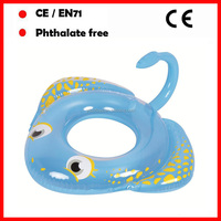 Pool floats inflatable manta ray rings for kids animal swimming rings