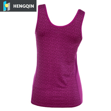 Women custom high quality Sport Wear breathable fitness Yoga tank China Supplier