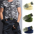 CAV1 Wholesale custom web canvas belts with custom buckle logo