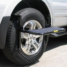 Adjustable Vehicle Tire Step For Suv