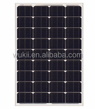 Low price mono 100W solar panel for household system type