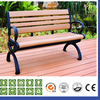 Waterproof Outdoor WPC Composite Bench,Composite Patio Bench / Wood Slats For Cast Iron Bench