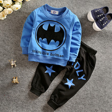 Autumn children's spring and autumn suit 2017 Korean version of the boys two-piece suit,kids clothing