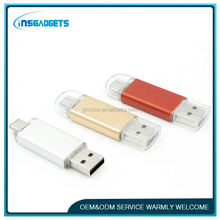 new arrival otg smartphone ,H0T390 leather usb 3.0 flash drive , 3.0 usb memory stick