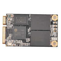 msata ssd 512g 256g 128g 64g full size/half size mini PCIe industrial SSD mini hard disk fast speed
