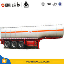 Liquid Food Tanker Trailer Chassis Tank Vehicle Trailer For Truck
