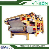 Coal Copper Mine Citric Acid Separator Vacuum Belt Filter Press for Crystalline Slurry