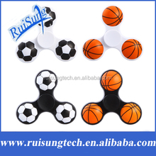Basketball Football Hand Spinners Plastic Fidget Spinner For Autism EDC and ADHD Anti Stress Toy